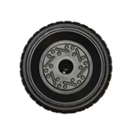 Left Wheel for Mustang - black