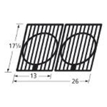 Cast Iron Cooking Grills Set of 2.  64332