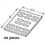 Ceramic Tile  97501  Pack of Six