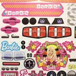 Label Sheet for Barbie Mustang P8812-0311