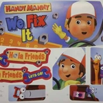 Label Sheet for Handy Manny Lil  Ford R1500-0320