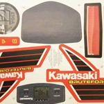Label Sheet for Kawasaki Brute Force R8126-0320