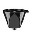 Filter Basket Holder Black DCC-755BKFBH
