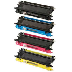 Brother TN210 Compatible Toner Cartridge Combo BK/C/M/Y